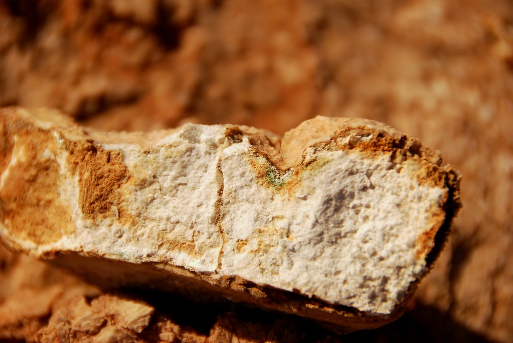 breaking rocks on rocks