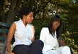ist1_1110638-girlfriends (BeyondYourHorizons) Tags: twogirls blackgirls womentalking
