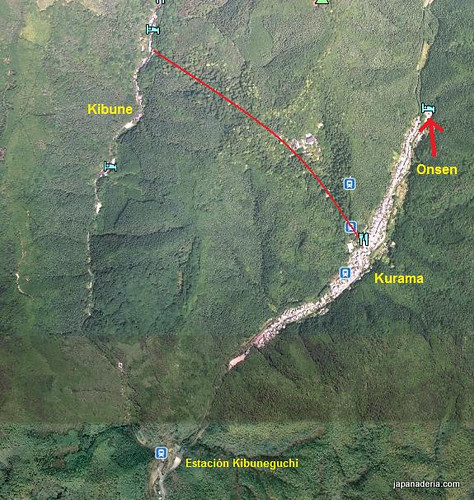 Kurama map