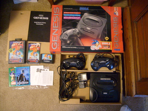 Selling boxed Sega Genesis System and Games 4474851018_327d9f2ac3