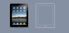 iPad vector image (sketchy pictures) Tags: apple illustration design mac vector ipad