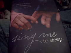 You Sing Me To Sleep. (Castiel Winchester) Tags: me book sad sleep sing to angela morrison