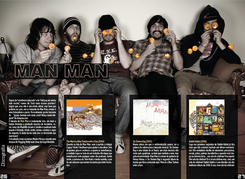 Number 9 - Discography Section with Man Man