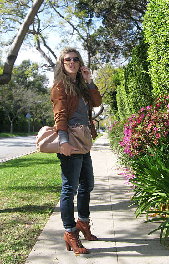 jeans blazer lace up boots 5 sharp