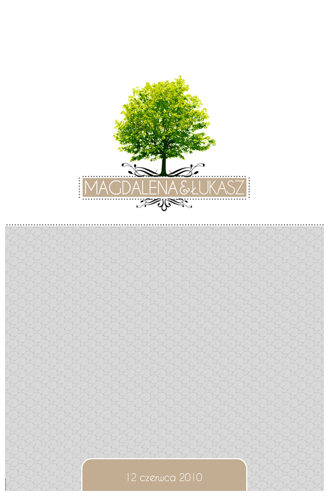 Magdalena & Łukasz – pierwszy projekt zaproszeń