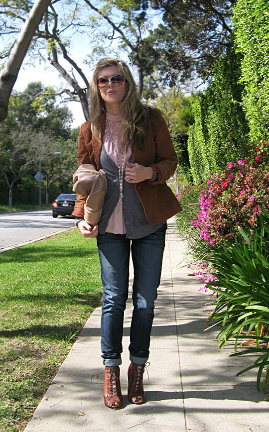 jeans blazer lace up boots 2 sharp