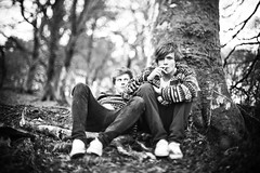 Youth (joshuaporter.co.uk) Tags: light west men boys youth forest canon 50mm coast march scotland daylight natural f14 young overcast smoking cigarettes relaxed 2010 helensburgh rhu argyllbute joshuaporter michaelboland 5dmkii freelensed charliemyatt