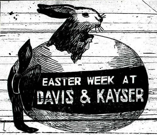 Easter Advertisement in the Joplin Globe