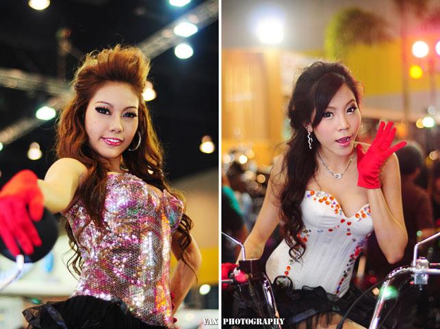 Bangkok Motor show girls 21