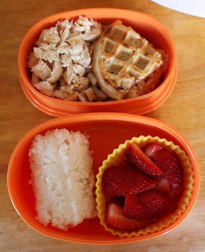 Toddler Bento #8: March 31, 2010