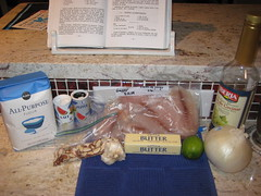 snapper almondine ingredients