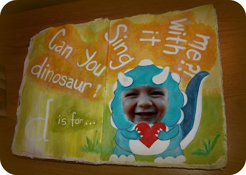 dinosaur journal page