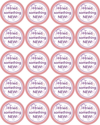 i tried something new printable stickers wendolonia