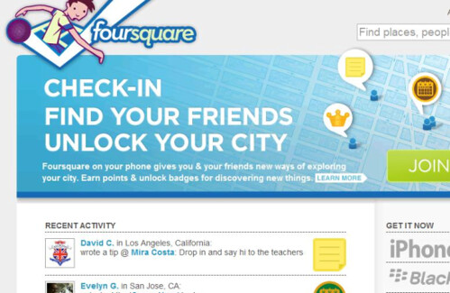 Foursquare for Biz