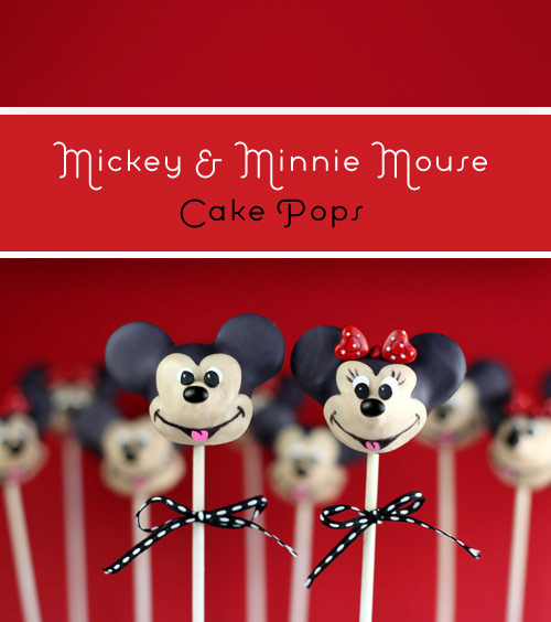 Mickey Mouse Cake Pops Tutorial IMG 6658