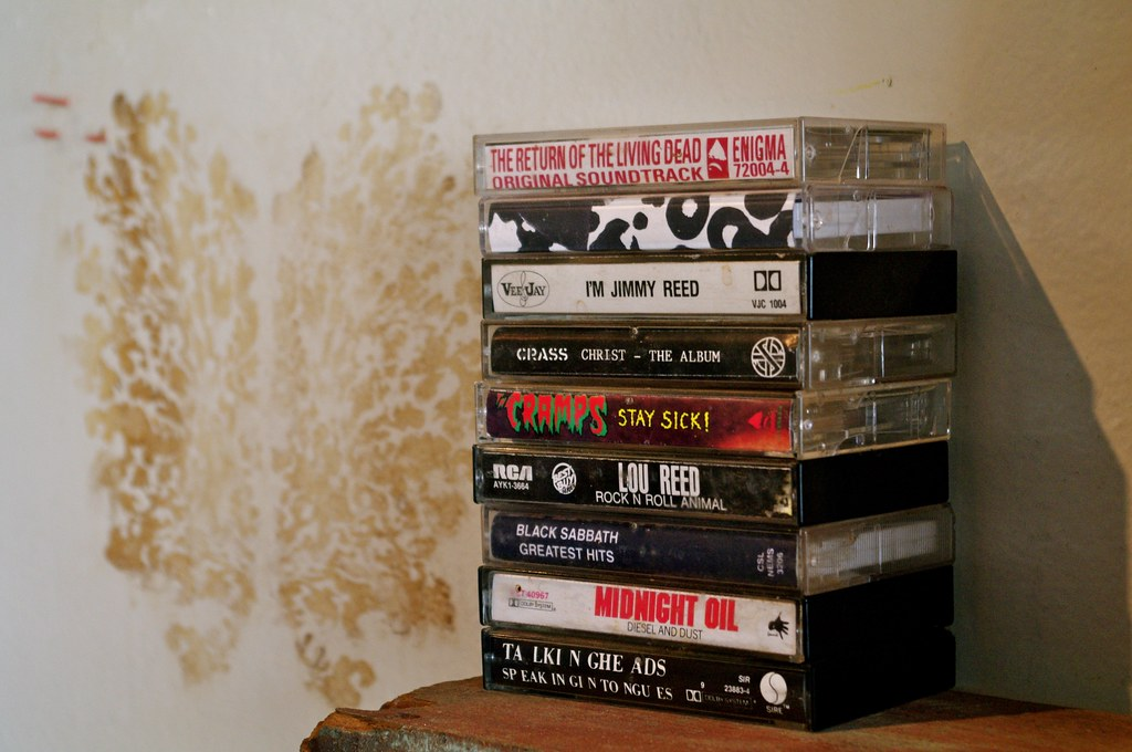 Tapes at Trouble Coffee