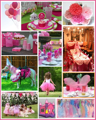Princess Party Inspiration Board