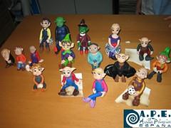 PERSONAJES TERMINADOS (AsociacionAPE) Tags: fotodegrupo seminarionoemihurtado personajesterminadosarcillapolimerica