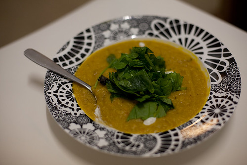Red Lentil and Pumpkin Dahl, 261/365