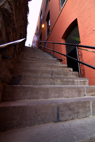 Exorcist Stairs in Georgetown