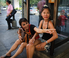 phone box girls (Adrian in Bangkok) Tags: life street urban sexy thailand asia bangkok poor documentary desperate reality whores prostitutes cheap redlightdistrict nasty sleaze hookers reportage depraved photoessay doco sexworkers sleazey