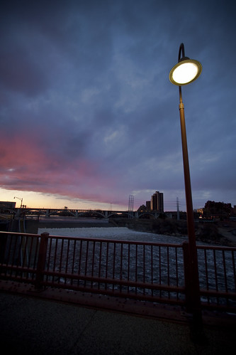 Evening on Stone Arch