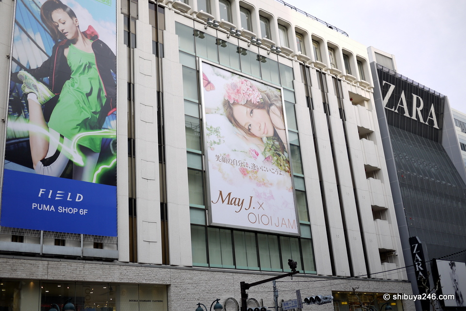 ZARA and Marui Store