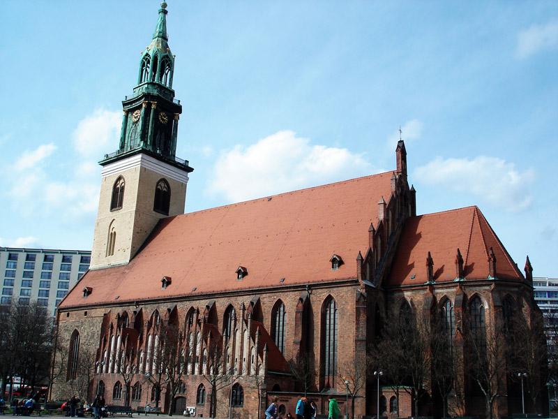 St Mary's Church Berlin