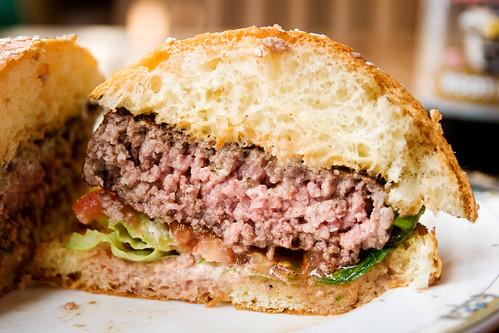 burger innards