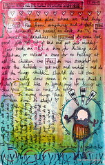 Art Journal - I want to live like this (thekathrynwheel) Tags: art moleskine collage artjournal journaling stampotique