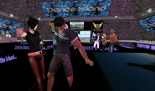 raftwet, xavier at dance island party