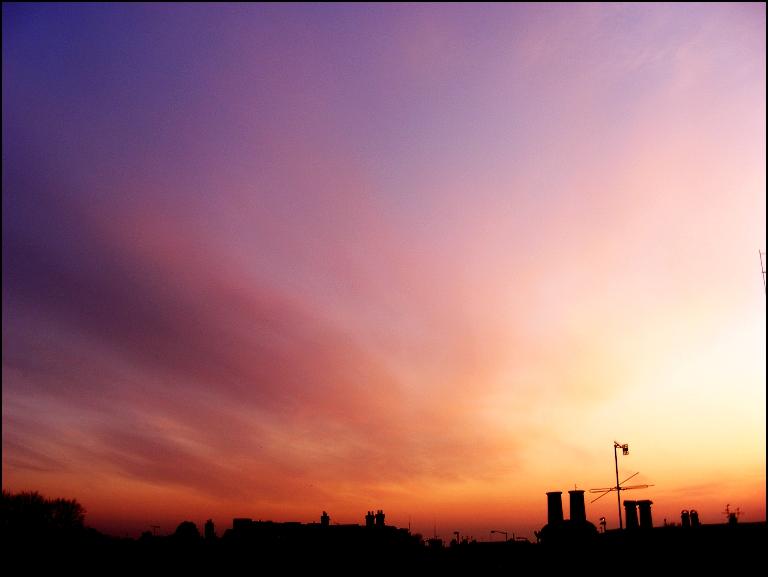 Volcanic Sunset I