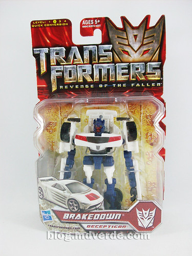 Transformers Breakdown Scout RotF - caja