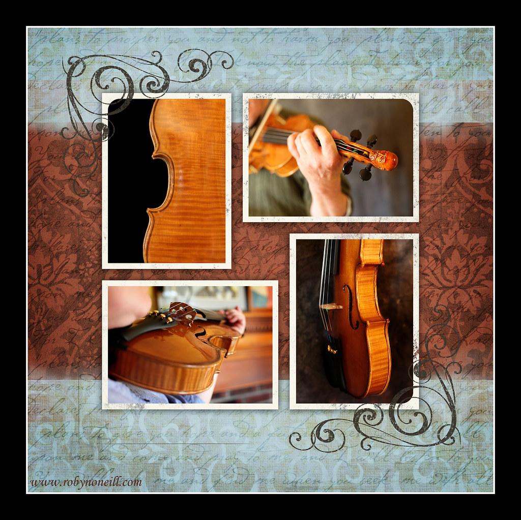 violin storyboard