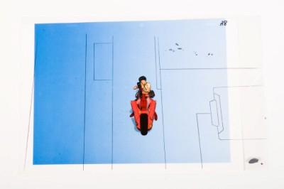 The Art of Akira Show at Toonseum