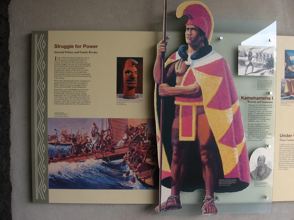 King Kamehameha I, Pu'ukohola Heiau National Historic Site, Kawaihae, Hawaii