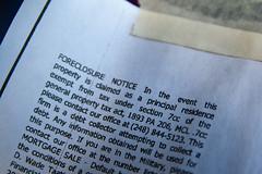 Foreclosure Notice April 14, 20101
