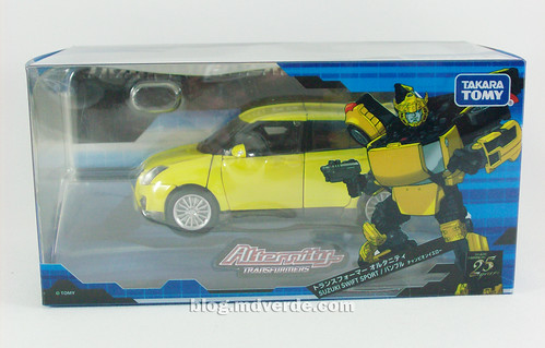 Transformers Bumblebee Alternity - caja