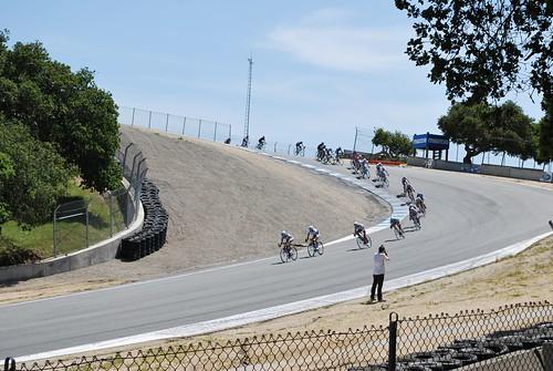 Professional women's circuit race