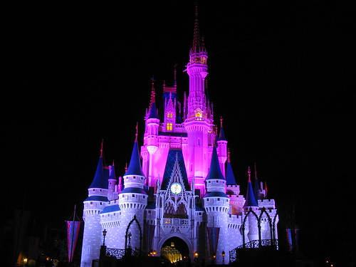 walt disney world castle logo. Night, Walt Disney World