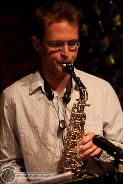 Paul Seaforth's Mo Sax at Dizzy's 41710 © Michael Klayman-038