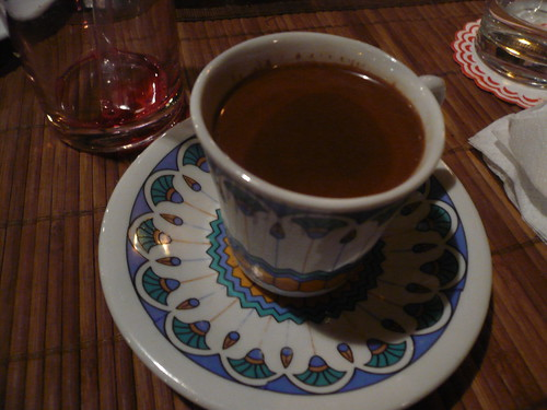 Ahwaziyada = Hawa (Turkish coffee) + ziyada (very sweet)