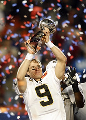 Drew Brees Barefoot Drew Brees Super Bowl Xliv