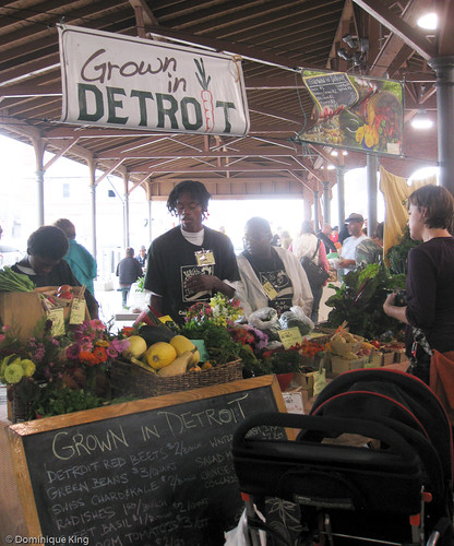 Fill your shopping basket with regional goodies at Detroit's Eastern Market; Midwest Guest