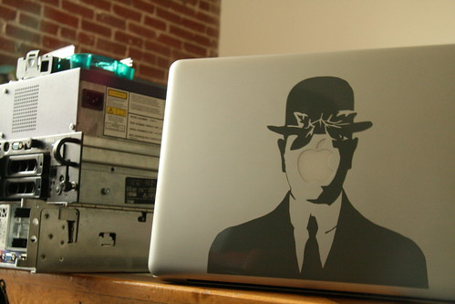 Son of Man Vinyl Sticker for Mac