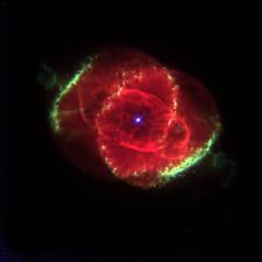 La nebulosa Ojo de Gato por Hubble