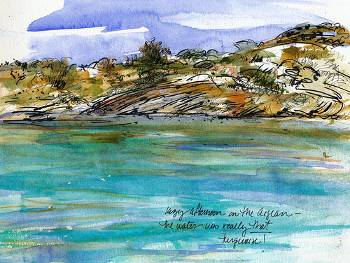 Turkey, sailing along the Aegean coast