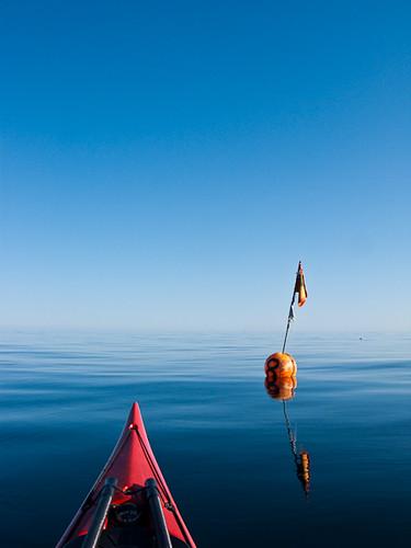 Kayak and Buoy