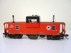 AC # 9607 WIDE VISION CABOOSE (Larry the Lens) Tags: angus ac rapido modelrailroad modeltrains hoscale widevision algomacentral