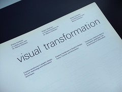 Visual Transformation (AisleOne) Tags: internationaltypographicstyle graphicdesignbook graphicdesign walterjdiethelm abcverlag swiss